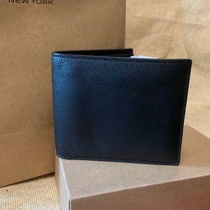 Coach black men's wallet